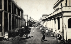 The old market area of the city. It still looks largely the same.