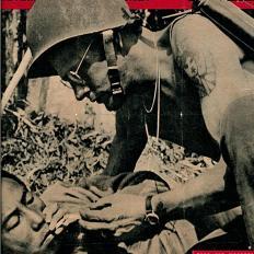 Yank Magazine, 14 May 1944, carries a photo of Bradburn within
