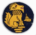 Chindits Cloth Badge