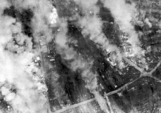Dresden under attack by the American 8th Air Force on the afternoon of the 14th.