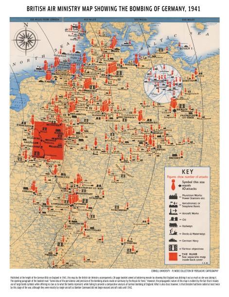 Map 1 - Bombing 1941