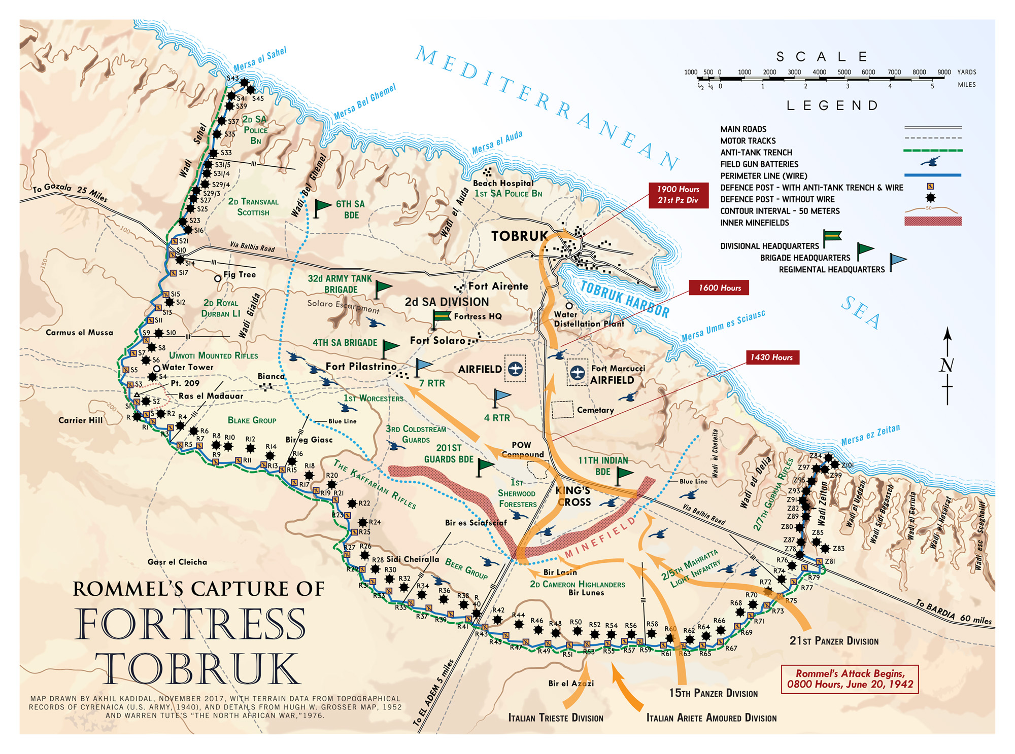 Car With Road >> The Road to Tobruk (The North African Campaign, 1940-1942) | Hermes' Wings