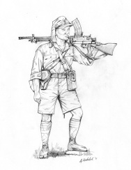 Japanese Machinegunner