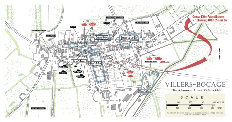 Map 5 - Villers-Bocage Afternoon Attack
