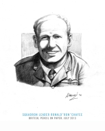 Originally enlisting in the RAF Voluntary reserve as a common airman in January 1939, Ronald Ivor Chaffe (1915-Feb 1942) rose through the ranks after the start of the war. Called up for active duty from the reserves in September 1939, Chaffe was a fully trained pilot by May 1940. Records would later show him as being in 1435 Flight on Malta by late-1941, although Chaffe would be given command of 185 Squadron on 17 February 1942. Less than a week later, however, he would be dead. Scrambled to tackle an incoming raid of Ju88s and Me109Fs on the 22nd, Chaffe and 185 Squadron took to the skies a little after 1 pm. He was shot down by a German Me109. Chaffe is thought to have bailed out and ditched in the sea. His dinghy was spotted some four to five miles off Point Delimara, and although rescue boats were sent out to bring him in, the search was limited because of the threat of loitering Me109s. The next morning, the 23rd, another air and sea rescue sweep was mounted, only to meet more raiders. As the rescue operation turned into a full-blown battle, the search was called off. Chaffe was never seen again. He was 27-years old and left behind his wife, Betty.