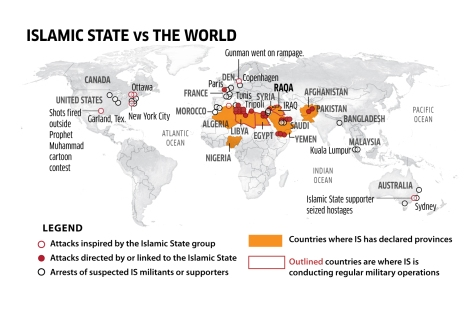 World ISAttacksWorldwide