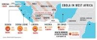 Ebola in West Africa September 3-2014