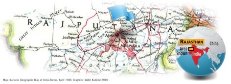 Ajmer-Map