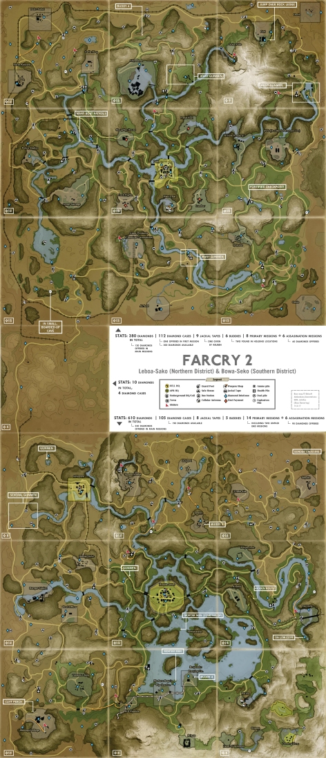 FarCry 2 Map