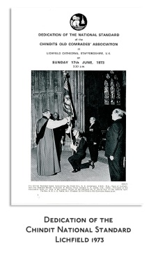 Dedication-of-Chindit-National-Standard-Lichfield-1973