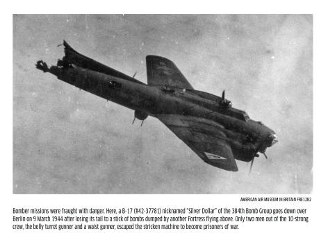 B-17 doomed