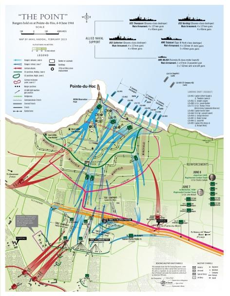 Normandy - Pointe-du-Hoc