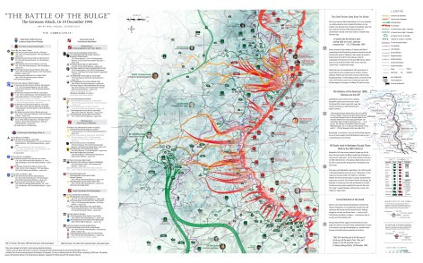 The Battle of the Bulge - 16-19 Dec 44